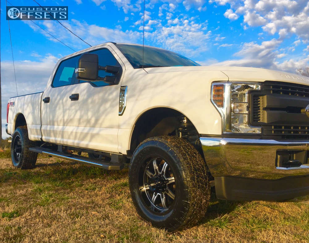 2018 Ford F-250 Super Duty Slightly Aggressive on 20x9 1 offset Ultra Menace and 285/65 Nitto Terra Grappler G2 on Leveling Kit - Custom Offsets Gallery