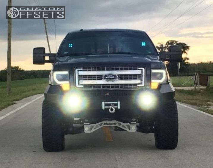 """2013 Ford F-150 Super Aggressive 3""""-5"""" on 22x10 -24 offset XD Xd820 & 35""""x12.5"""" Toyo Tires Open Country M/T on Suspension Lift 6.5"""" - Custom Offsets Gallery"""