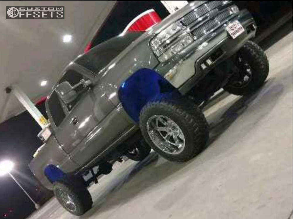 """2001 Chevrolet C1500 Super Aggressive 3""""-5"""" on 20x12 -44 offset Moto Metal Mo962 & 35""""x12.5"""" Mastercraft Courser Mxt on Suspension Lift 6"""" & Body 3"""" - Custom Offsets Gallery"""