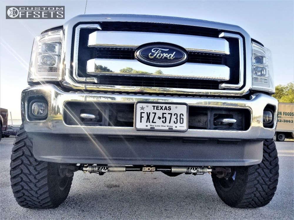 "2014 Chevrolet Silverado 1500 Super Aggressive 3""-5"" on 22x12 -44 offset Gear Off-Road Big Block & 37""x13.5"" Atturo Trail Blade Mt on Stock Suspension - Custom Offsets Gallery"