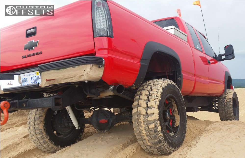 """1993 Chevrolet K2500 Super Aggressive 3""""-5"""" on 18x10 -24 offset Moto Metal Mo961 & 35""""x12.5"""" Federal Couragia MT on Suspension Lift 6"""" & Body 3"""" - Custom Offsets Gallery"""