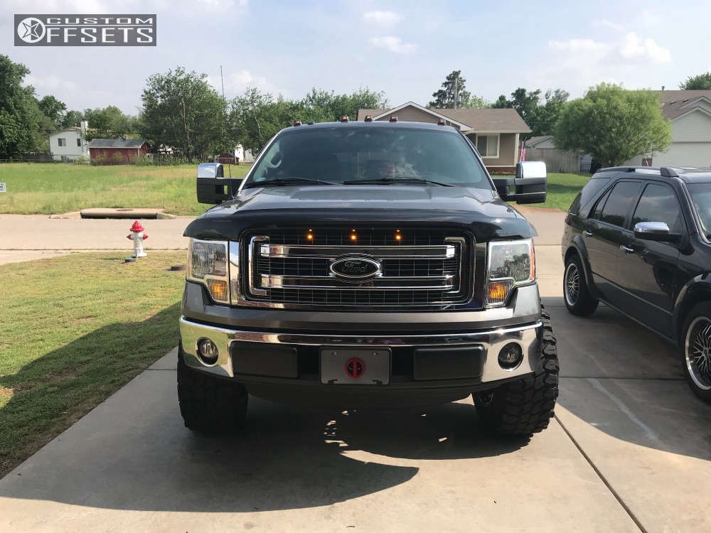 """2014 Ford F-150 Super Aggressive 3""""-5"""" on 20x12 -44 offset Scorpion Sc20 & 325/60 Falken Wildpeak At3w on Suspension Lift 6"""" - Custom Offsets Gallery"""