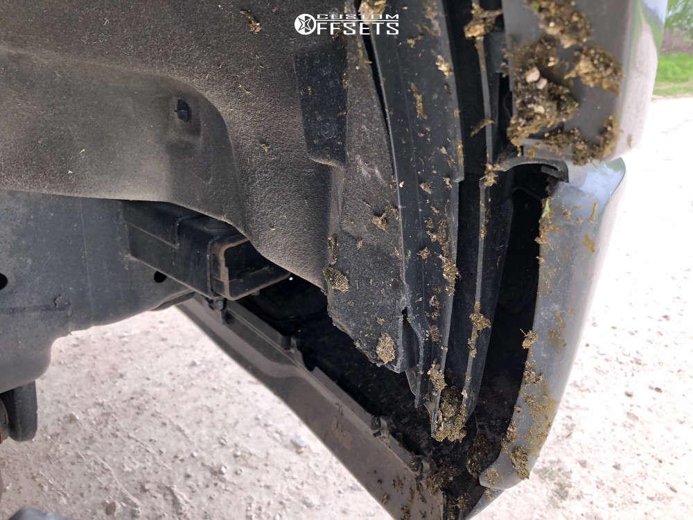 "2018 Ford F-150 Aggressive > 1"" outside fender on 20x10 -24 offset XD Holeshot and 275/65 Yokohama Geolandar Mt G003 on Suspension Lift 3"" - Custom Offsets Gallery"