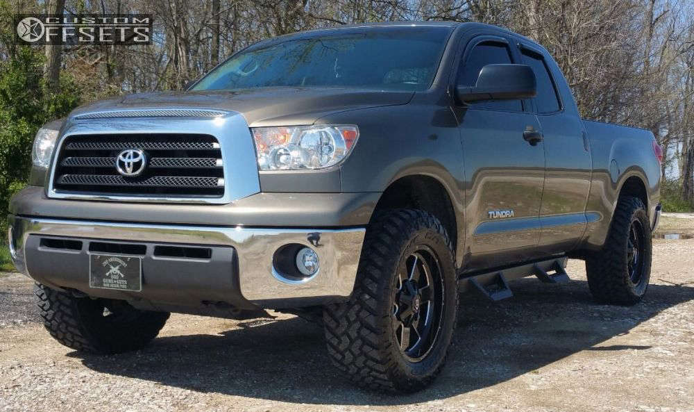 2008 Toyota Tundra Slightly Aggressive on 20x9 12 offset Vision Arc & 295/60 Nitto Trail Grappler on Leveling Kit - Custom Offsets Gallery