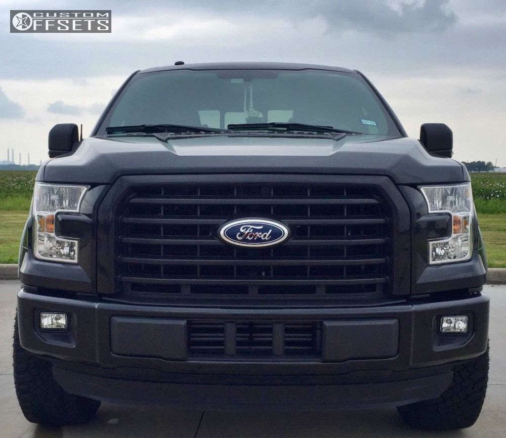 """2016 Ford F-150  on 20x9 1 offset Fuel Vapor and 33""""x12.5"""" Atturo Trail Blade XT on Leveling Kit - Custom Offsets Gallery"""