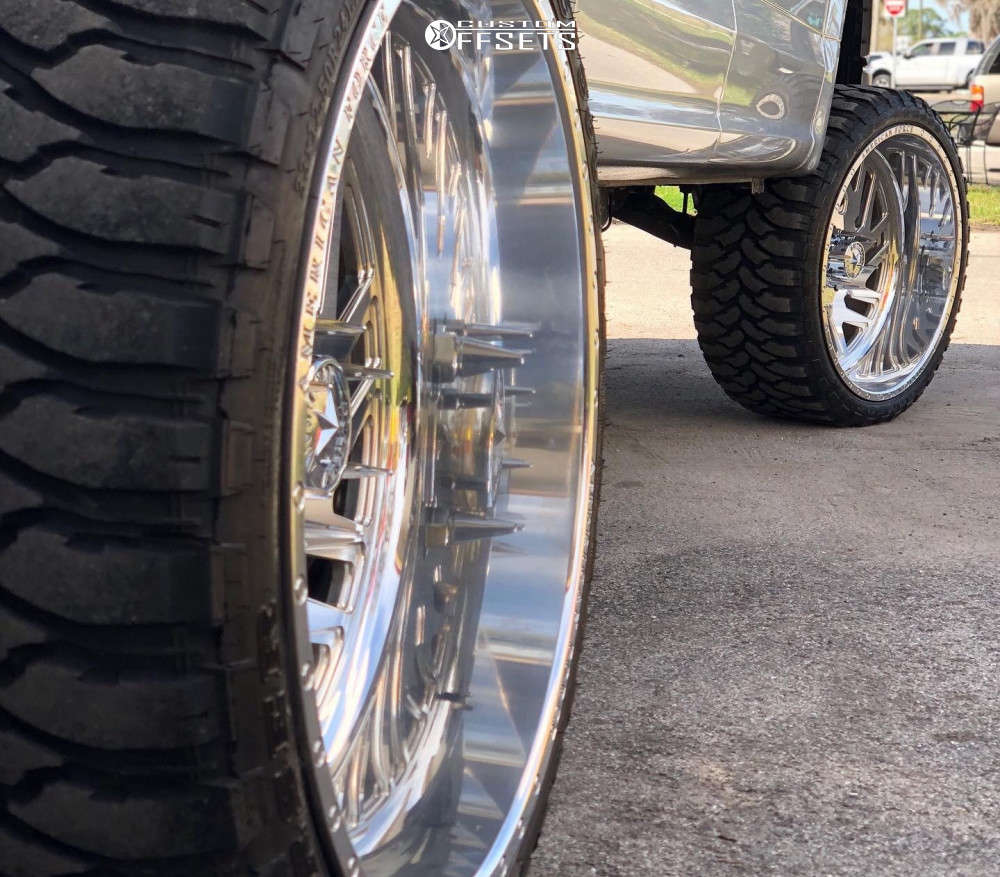 """2017 Ford F-150 Super Aggressive 3""""-5"""" on 24x12 -40 offset American Force Kash Ss and 33""""x12.5"""" Comforser Cf3000 on Suspension Lift 6.5"""" - Custom Offsets Gallery"""