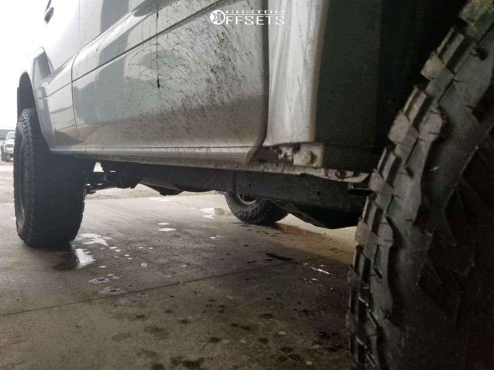 "2007 Lexus GX470 Slightly Aggressive on 17x8.5 0 offset Method NV and 285/70 Falken WildPeak AT3W on Suspension Lift 2.5"" - Custom Offsets Gallery"