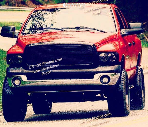 "2004 Dodge Ram 1500 Aggressive > 1"" outside fender on 18x10 -24 offset Moto Metal Mo969 & 35""x12.5"" Nitto Terra Grappler G2 on Suspension Lift 6"" - Custom Offsets Gallery"
