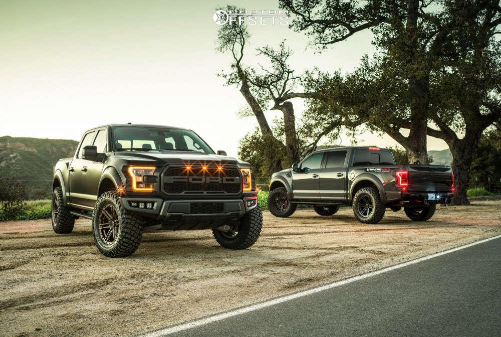 "2018 Ford Raptor Slightly Aggressive on 20x9 12 offset VenomRex Vr602 & 37""x13.5"" BFGoodrich Mud-terrain T/a Km3 on Suspension Lift 3.5"" - Custom Offsets Gallery"
