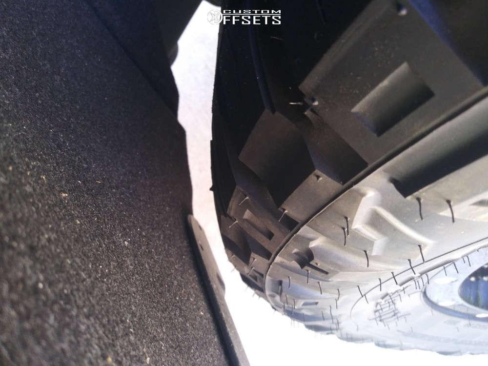 2019 Chevrolet Silverado 1500 Slightly Aggressive on 20x9 1 offset Fuel Maverick and 305/55 Nitto Ridge Grappler on Leveling Kit - Custom Offsets Gallery