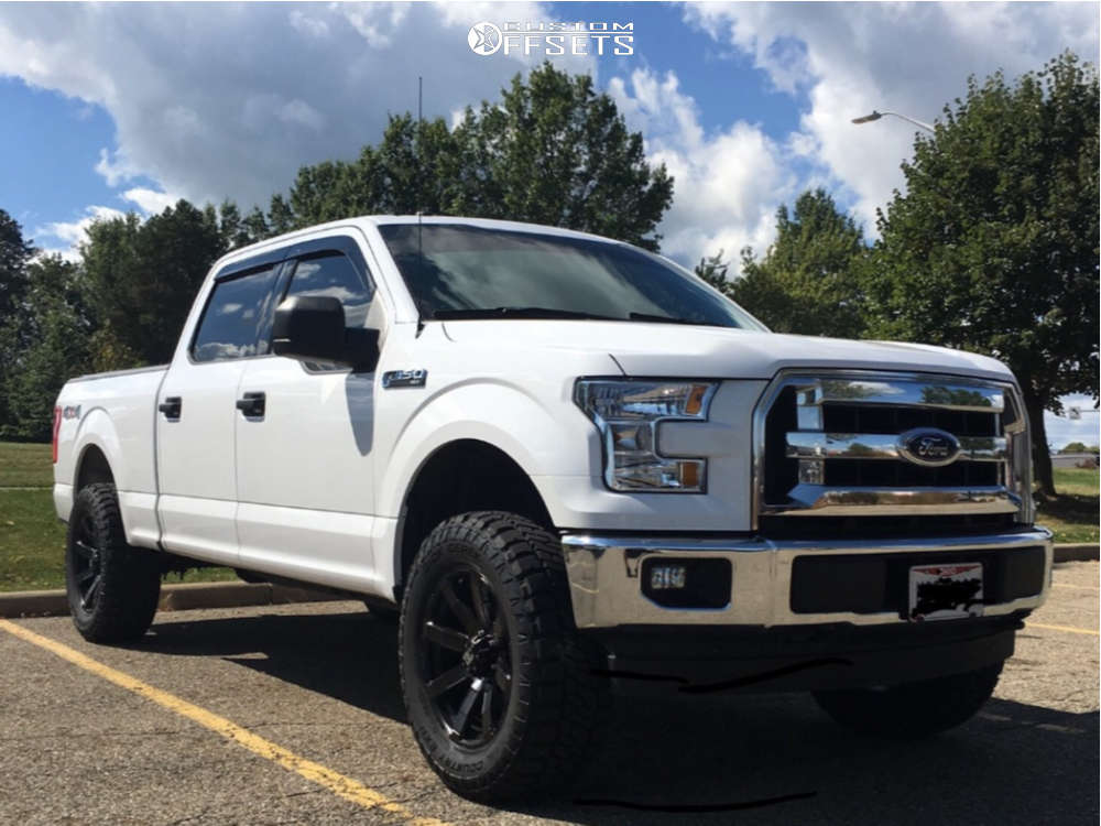 """2017 Ford F-150 Slightly Aggressive on 20x9 12 offset Dick Cepek Matrix and 35""""x12.5"""" Dick Cepek Trail Country Exp on Suspension Lift 3"""" - Custom Offsets Gallery"""