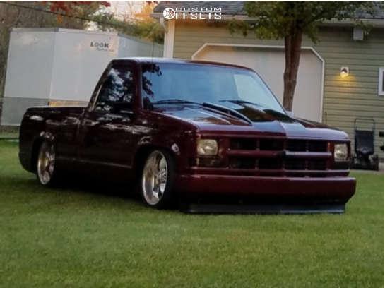 1997 Chevrolet C1500 Flush on 20x10 15 offset Boyd Coddington Junkyard & 275/35 Hankook Ventus St on Air Suspension - Custom Offsets Gallery