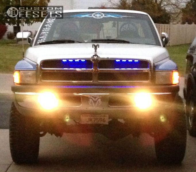 1997 Dodge Ram 1500 5 - Ram Dodge Suspension Lift Black Rock Type Black - 1997 Dodge Ram 1500 5
