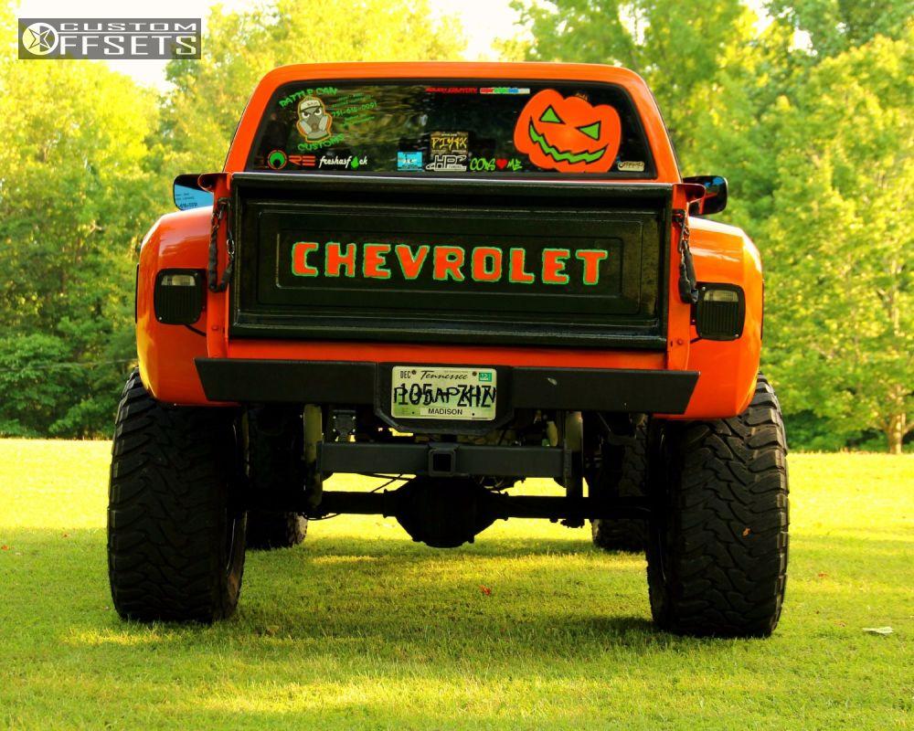 Wheel Offset 1978 Chevrolet K10 1/2 Ton P/u 4wd Super ...