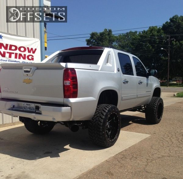 3 2012 Avalanche Chevrolet Suspension Lift 6 Fuel Maverick Custom Super Aggressive 3