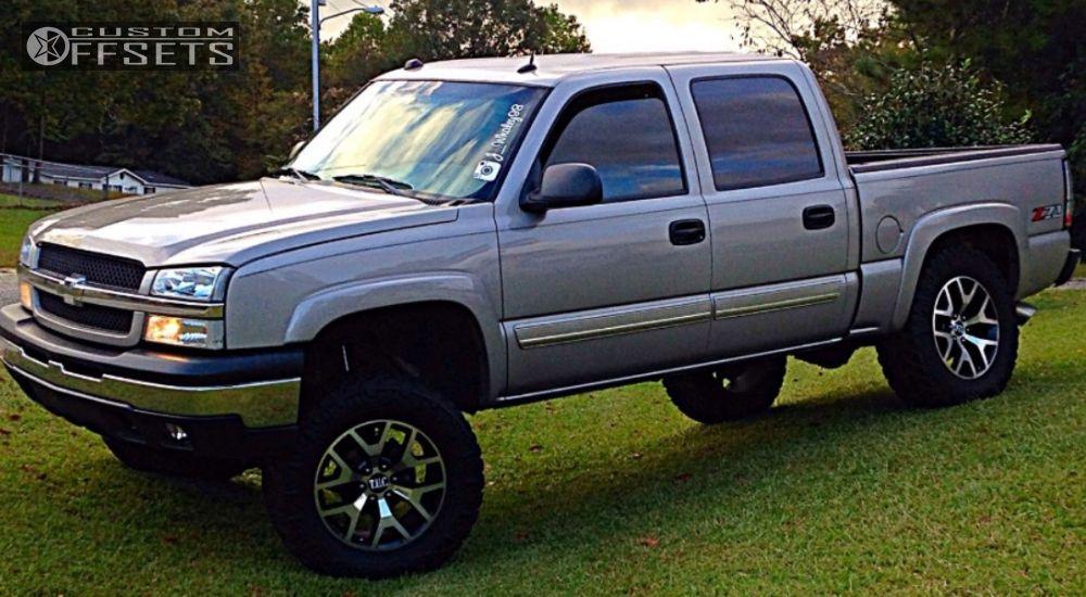 1 2005 Silverado 1500 Hd Chevrolet Suspension Lift 6 Oem 014 Custom Super Aggressive 3 5
