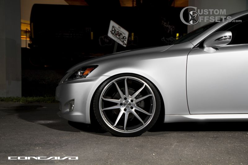 Wheel Offset 2008 Lexus Is 250 Flush Dropped 1 3 Custom Rims