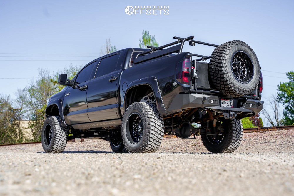 Lifted Tundra with Anthem Wheels