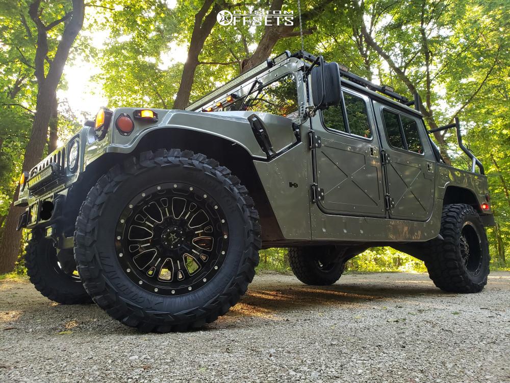 Humvee with RBP Aftermarket Wheels