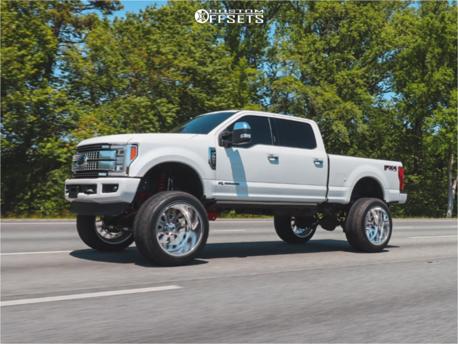 F250 Lifted Fury Offroad Wheels