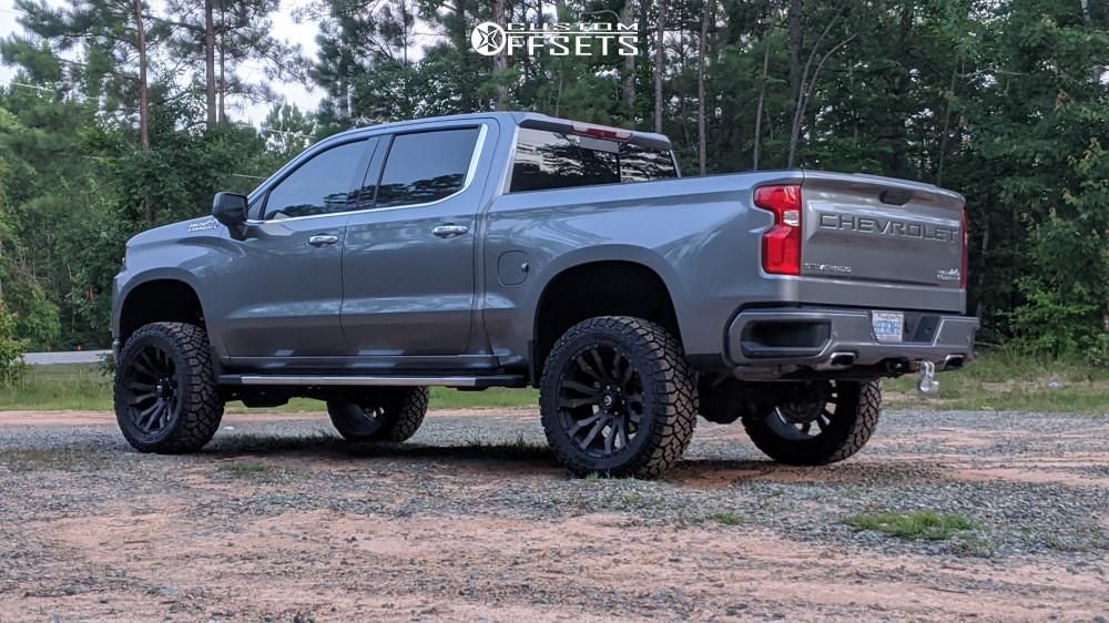 1 2019 Silverado 1500 Chevrolet Bds Suspension Lift 6in Fuel Blitz Bronze