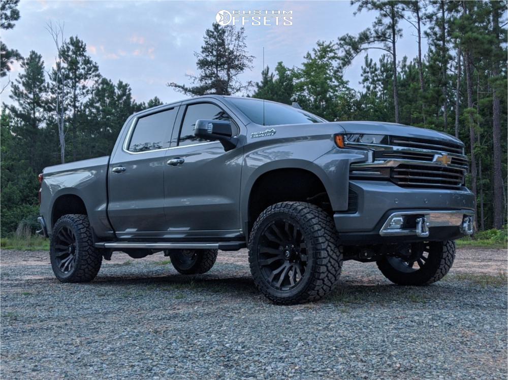 2 2019 Silverado 1500 Chevrolet Bds Suspension Lift 6in Fuel Blitz Bronze