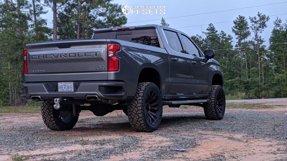 3 2019 Silverado 1500 Chevrolet Bds Suspension Lift 6in Fuel Blitz Bronze