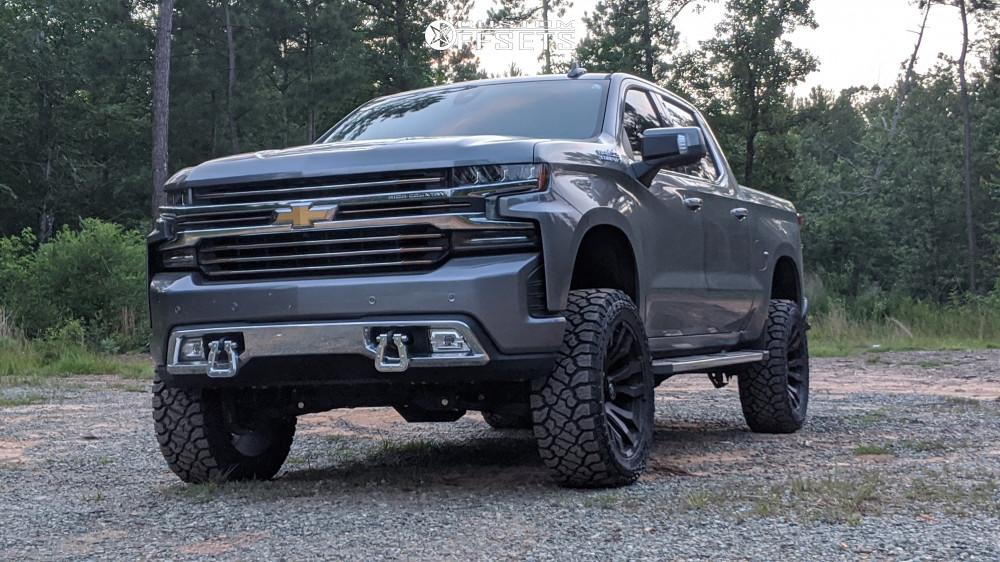 4 2019 Silverado 1500 Chevrolet Bds Suspension Lift 6in Fuel Blitz Bronze