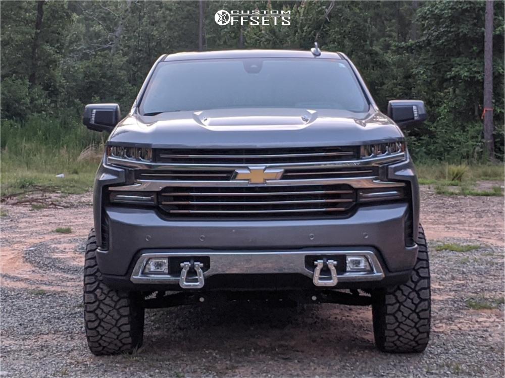 5 2019 Silverado 1500 Chevrolet Bds Suspension Lift 6in Fuel Blitz Bronze