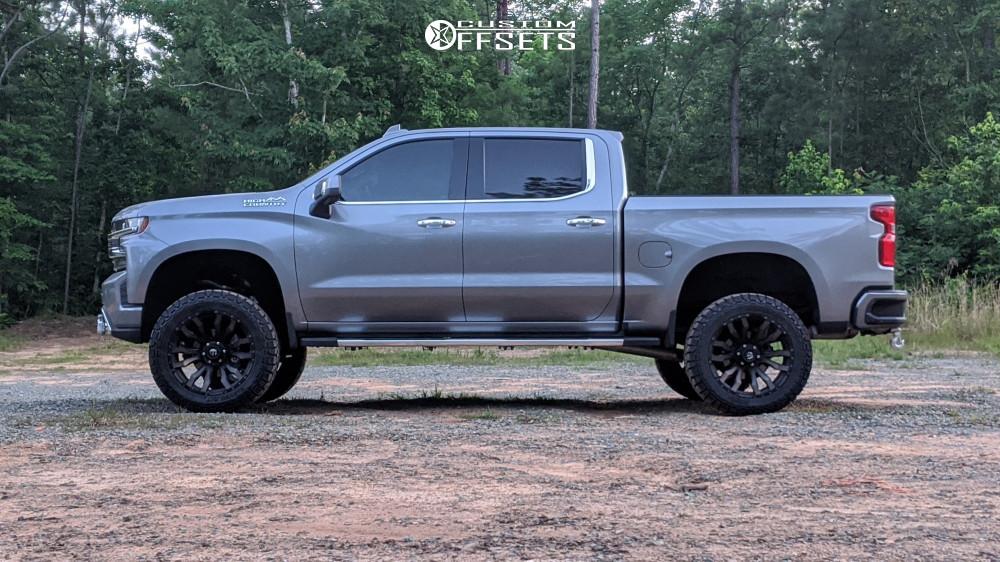 6 2019 Silverado 1500 Chevrolet Bds Suspension Lift 6in Fuel Blitz Bronze