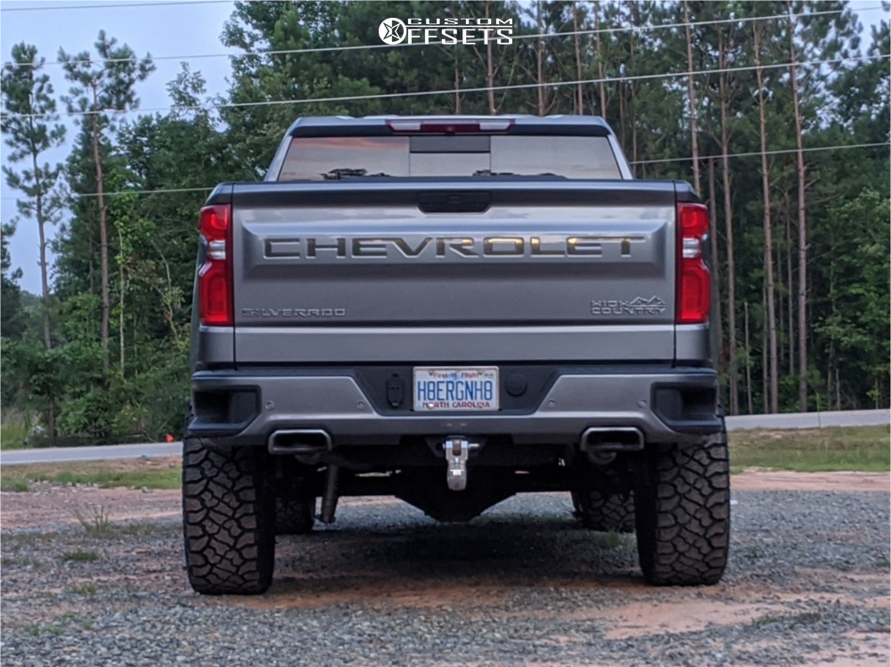 7 2019 Silverado 1500 Chevrolet Bds Suspension Lift 6in Fuel Blitz Bronze