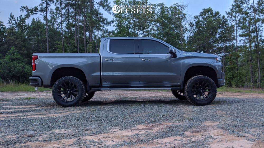 8 2019 Silverado 1500 Chevrolet Bds Suspension Lift 6in Fuel Blitz Bronze