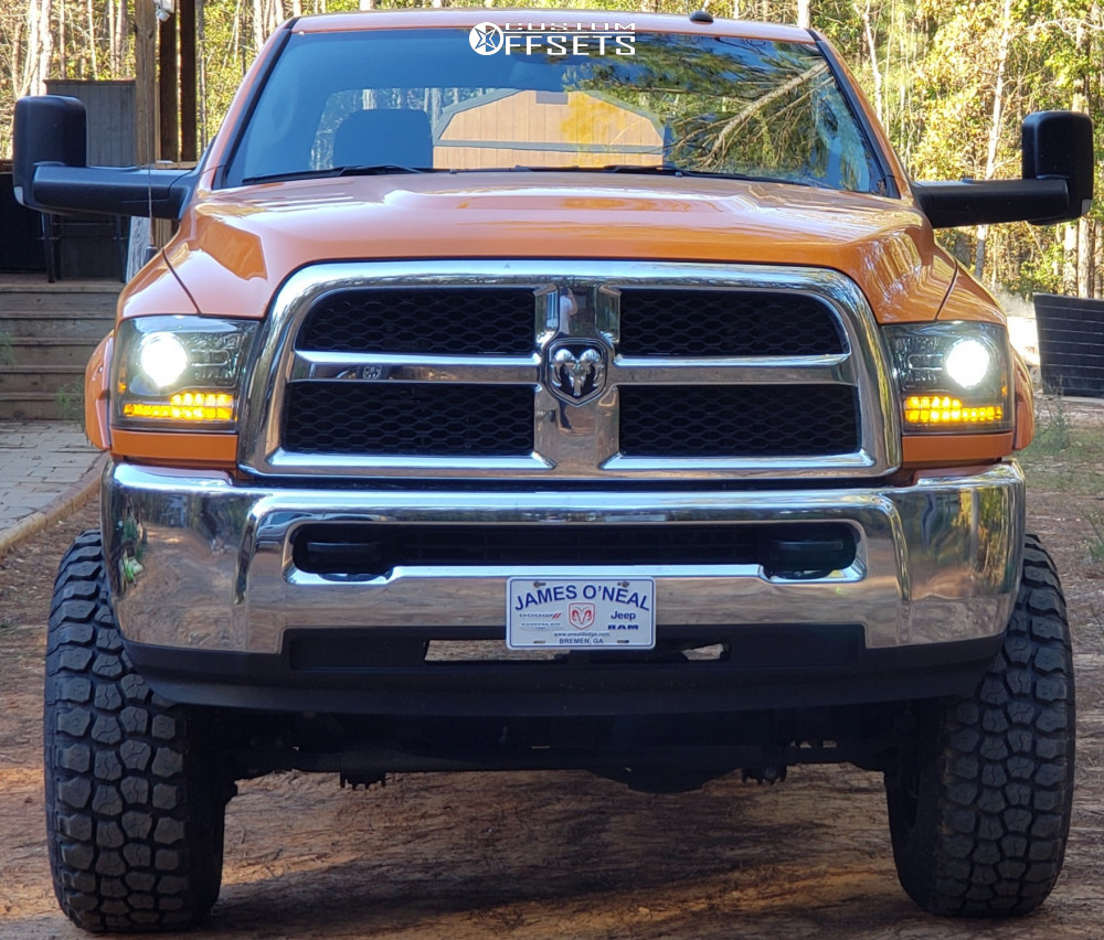 """2017 Ram 2500 Super Aggressive 3""""-5"""" on 20x9 0 offset XD Buck and 37""""x12.5"""" Ironman All Country Mt on Suspension Lift 6"""" - Custom Offsets Gallery"""