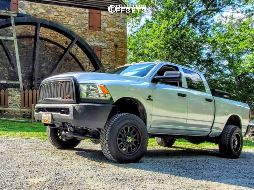 Lifted Ram with Anthem Wheels