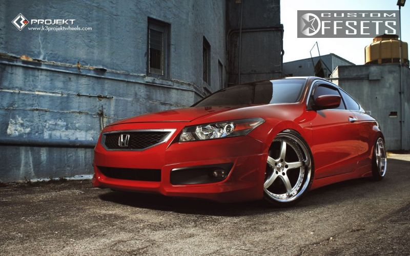 Wheel Offset 2011 Honda Accord Tucked Dropped 1 3 Custom Rims