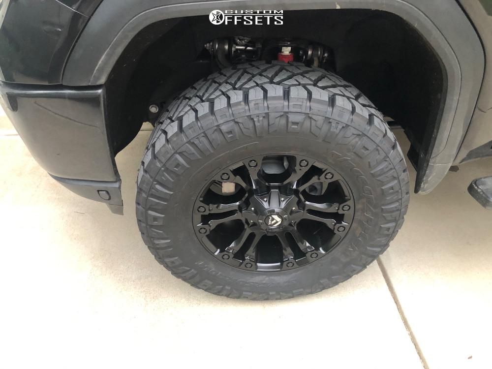 5 2020 Sierra 2500 Hd Gmc Readylift Suspension Lift 3in Fuel Vapor Black