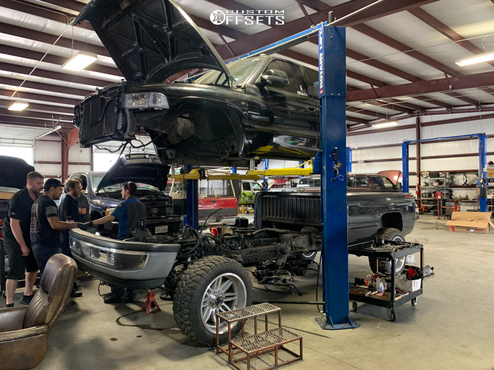 15 1999 Ram 2500 Dodge Zone Suspension Lift 5in Xtreme Force Xf5 Custom