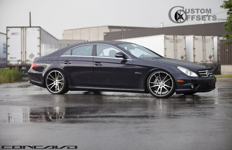 2009 Mercedes Benz Cls550 Concavo Wheels Cw S5 Custom