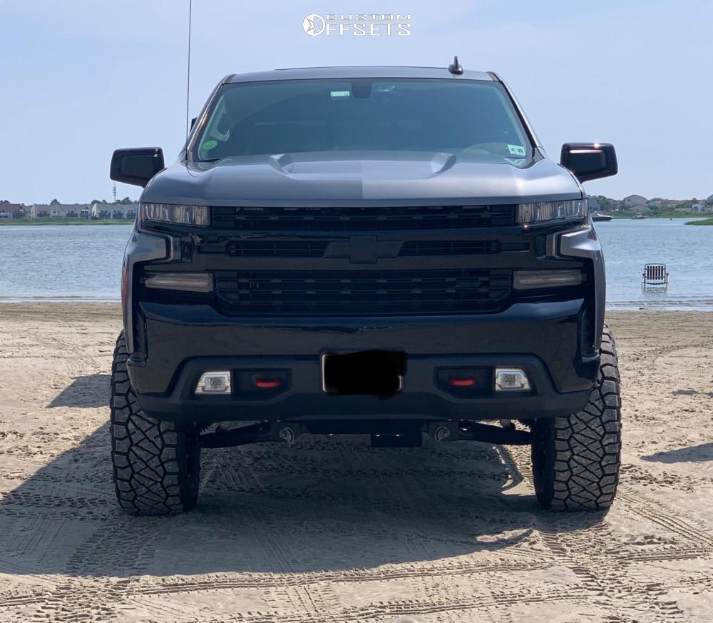 2 2020 Silverado 1500 Chevrolet Zone Suspension Lift 4in Fuel Vapor Matte Black