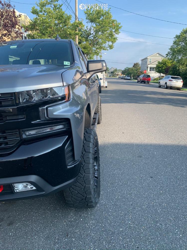 4 2020 Silverado 1500 Chevrolet Zone Suspension Lift 4in Fuel Vapor Matte Black