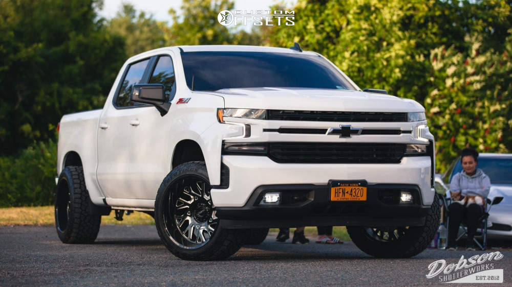 1 2020 Silverado 1500 Chevrolet Rough Country Leveling Kit Tuff T4b Black