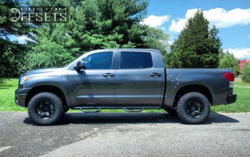 Wheel Offset 2012 Toyota Tundra Aggressive 1 Outside