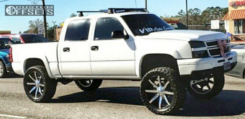 Chevy Silverado Custom Wheels >> 2006 Chevrolet Silverado 1500 Kmc Slide Rough Country Suspension Lift 7in