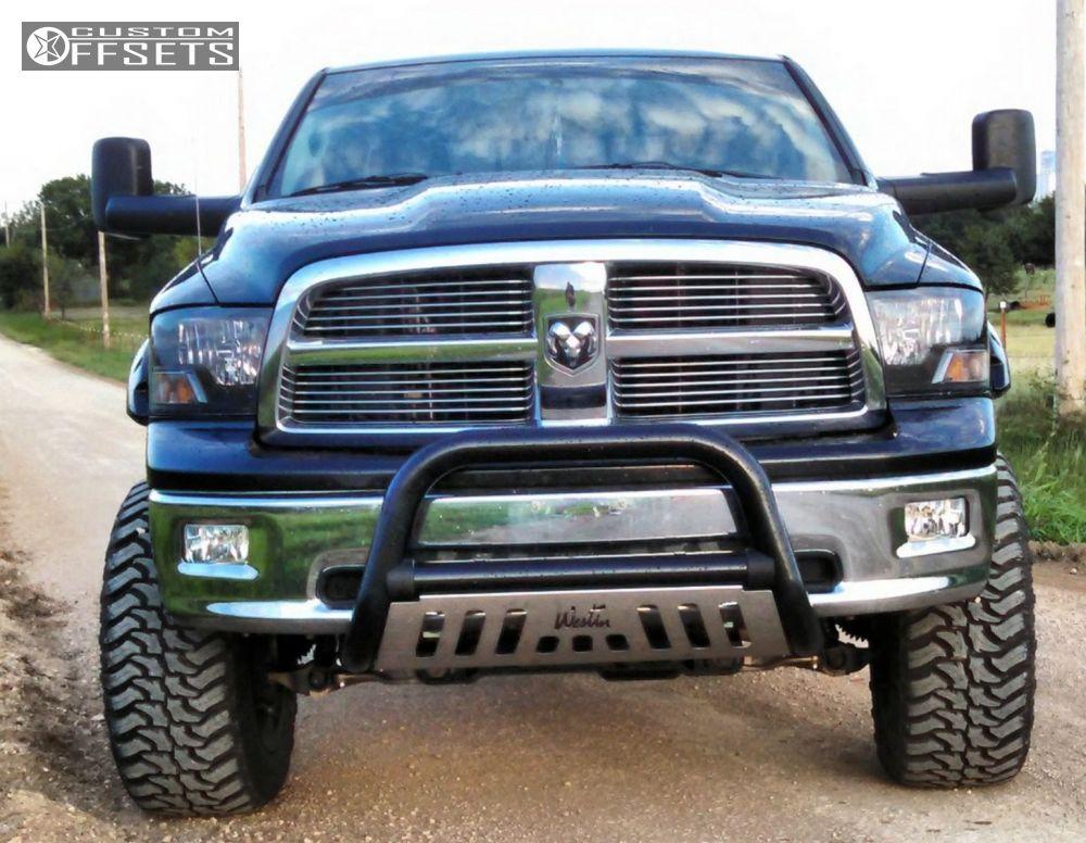 1 2009 Ram 1500 Dodge Suspension Lift 6 Moto Metal 962 Black Super Aggressive 3