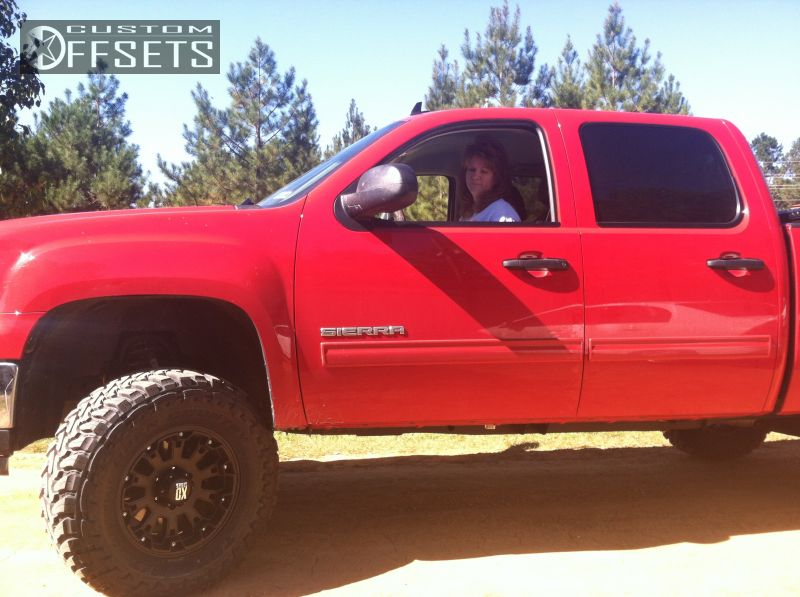 Wheel Offset 2012 Gmc Sierra 1500 Slightly Aggressive ...