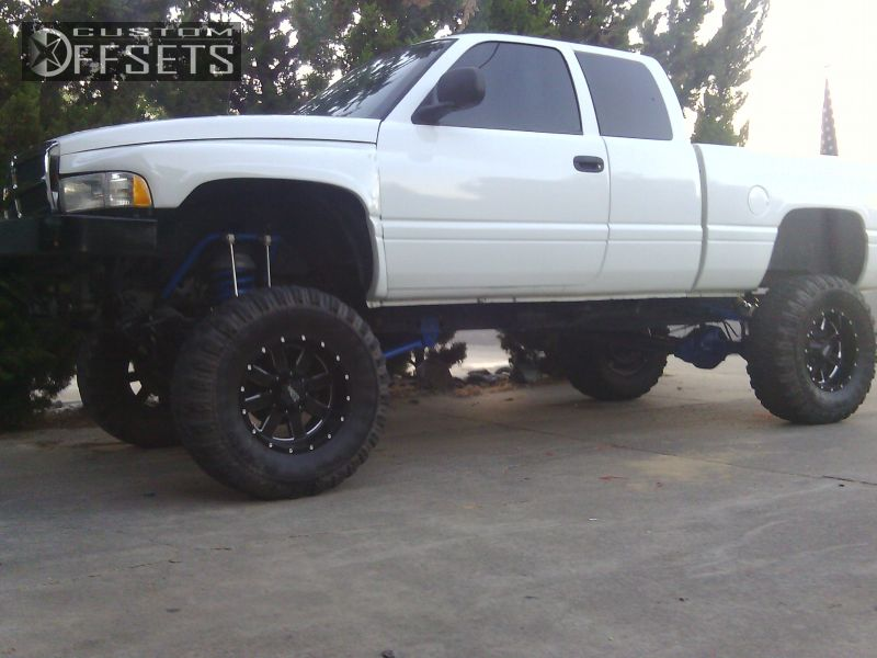 1 1996 Ram Pickup 1500 Dodge Suspension And Or Body Lift 9 Moto Metal Mo962 Black Gunmetal Super Aggressive 3