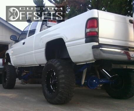 2 1996 Ram Pickup 1500 Dodge Suspension And Or Body Lift 9 Moto Metal Mo962 Black Gunmetal Super Aggressive 3