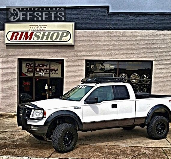 1 2004 F 150 Ford Suspension Lift 6 Fuel Hostage Black Gunmetal Super Aggressive 3