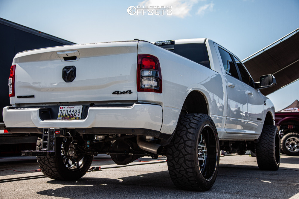 4 2019 2500 Ram Wicked Suspension Lift 4in Kg1 Forged Knox Black