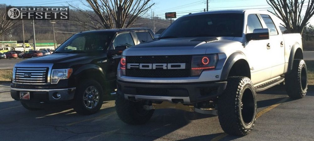 Hankook Truck Tires >> 2013 Ford F 150 Tis 535b Fabtech Suspension Lift 4in